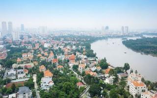 Cho thuê 600m2 đất mặt tiền Quốc Hương thờii hạn 10 năm