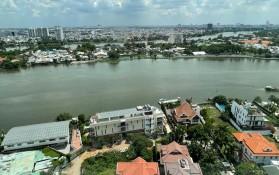Bán Đất biệt thự Thảo Điền mặt sông Sài Gòn  -
