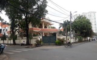 Biệt thự Thảo Điền góc 2 mặt tiền Nguyễn Bá Lân